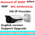 DAHUA English Version 4MP WDR Network Vandalproof Bullet IP Camera With Fixed Lens IP67 IPC-HFW4421E 3.6mm Lens
