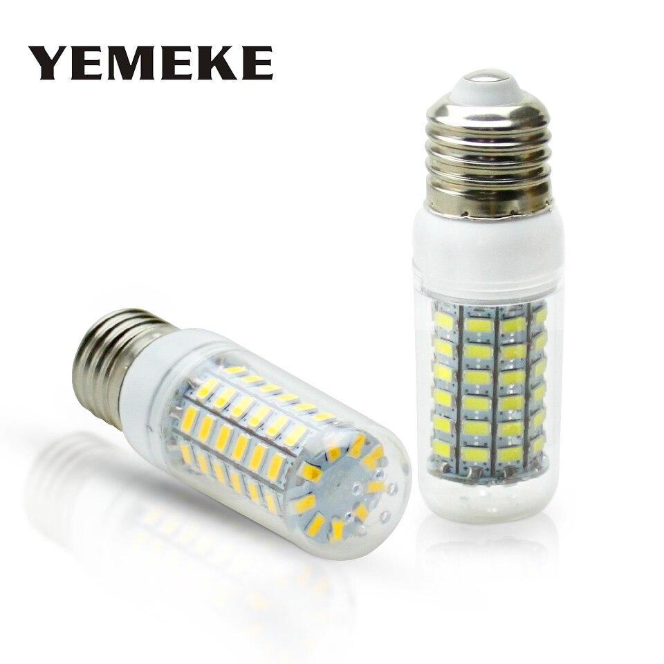 SMD 5730 Led Corn Bulb E27 Led Lamp E14 220V Warm/White 36 48 56 69 Leds Corn Bulb Chandelier Light For Home Lighting Led Bulb