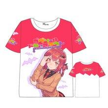 Anime  Gabriel DropOut T-shirt Men Women Short Sleeve Summer dress Cartoon t shirt