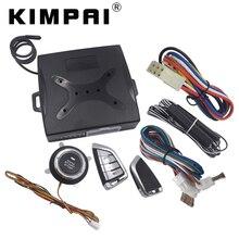KIMPAI Keyless Remoto Push Start Stop Sistema Do Carro Para BMW botão PKE 40mA Emissão Janela Do Carro Auto Up Saída Curent dispositivo