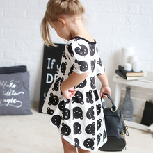 2019 spring summer baby girl clothes kids bear dresses fashion girls clothing vestidos for vetement