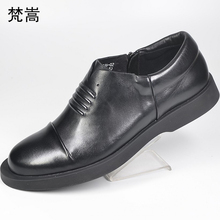spring autumn High Quality Genuine Leather Shoes Men,Lace-Up Business Mens casual Shoes,Men Dress Shoes, all-match cowhide men casual shoes 3d print shoes high top black white mix color comfortable cool all match genuine leather autumn winter shoes