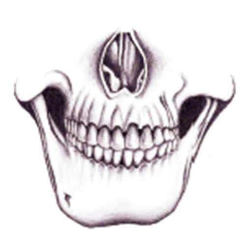 Водонепроницаемые временные фальшивые татуировки наклейки крутой серый череп лицо Джокер жуткий, пугающий уникальный дизайн тела Искусство Макияж инструменты