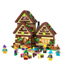 Princess Series Snow White Forest Cottage Building Blocks Sets Bricks Friends Model Kids Classic Movie Toys Compatible Legoings