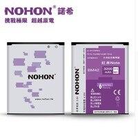Original NOHON Brand Battery BM42 1 High Capacity 3200mAh For Xiaomi Redmi Hongmi Red Rice Note