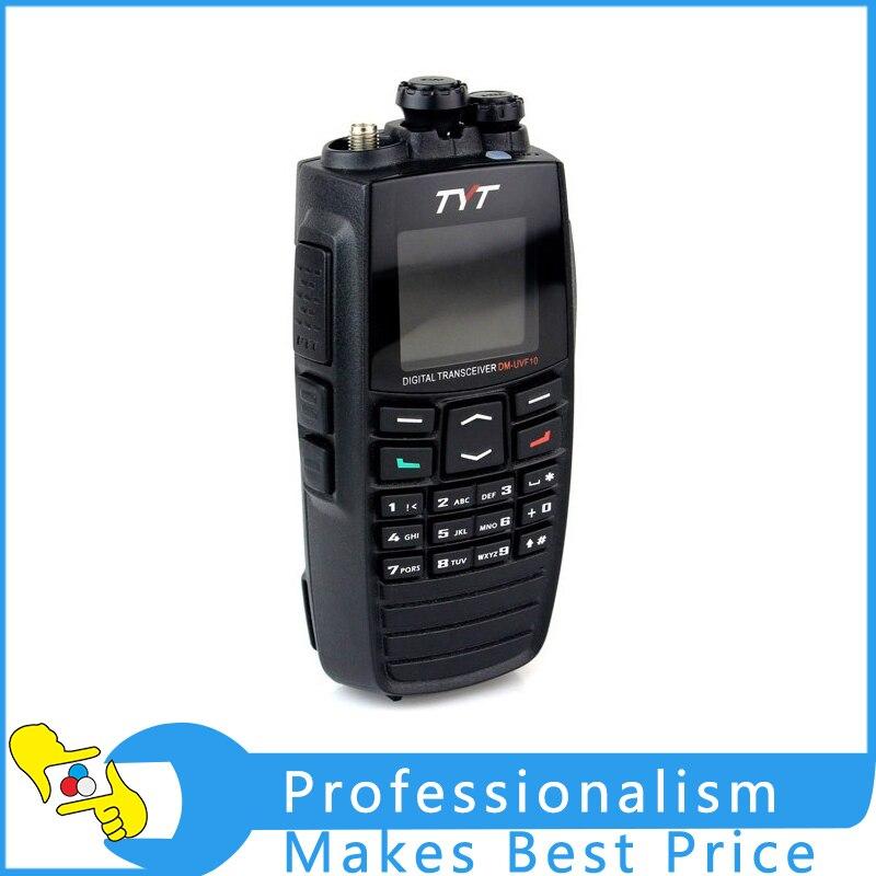 TYT DM-UVF10 400-470MHz/136-174MHz Digital Handheld Walkie Talkie Dual Band Two Way Radio baofeng uv 5rb walkie talkie dual band two way radio