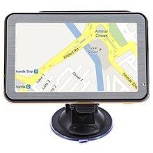 5 дюймов Окна CE 6.0 Автомобильные GPS-навигаторы навигации tft ЖК-дисплей Сенсорный экран FM Радио голосовые подсказки Многофункциональный навигатор Карты