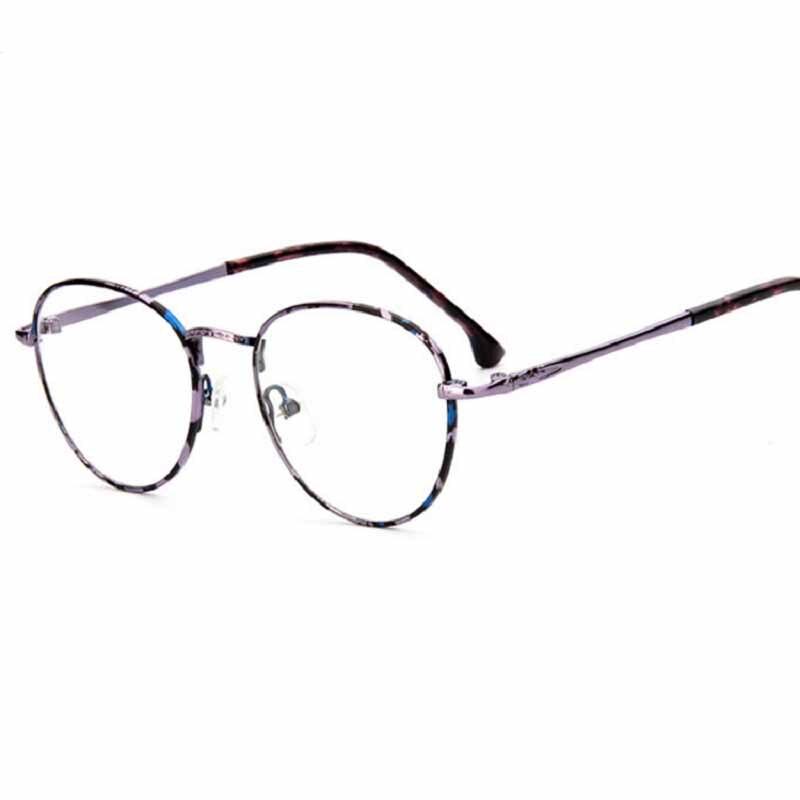 Nuevo vintage gafas marcos para hombres/mujeres metal marco gafas ...