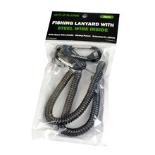 Portable Fishing Lanyards Rope Boating Kayak Camping Secure Grips Spring Climbing accessories(China)