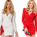 2016 nueva moda ropa de mujer sexy vestido túnica femme vetement ropa mujer vestido de fiesta túnica bodycon vestido lápiz