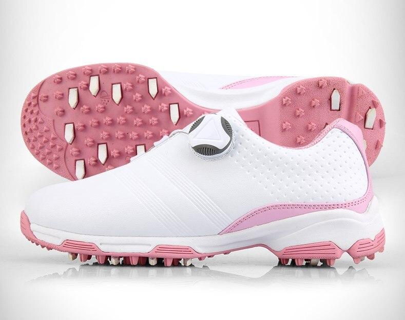 Sapatos de Golfe Pgm de Golfe para Mulheres Impulso Especial! Genuíno Calçados Esportivos Respirável Antiderrapante Frete Grátis! Mod. 174967