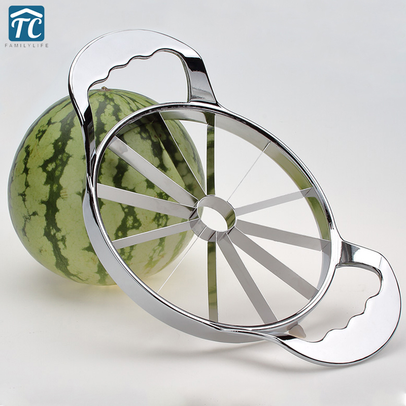 Kitchen Practical Tools Creative Watermelon Slicer Melon Cutter Knife 410 stainless steel Fruit Cutting Slicer