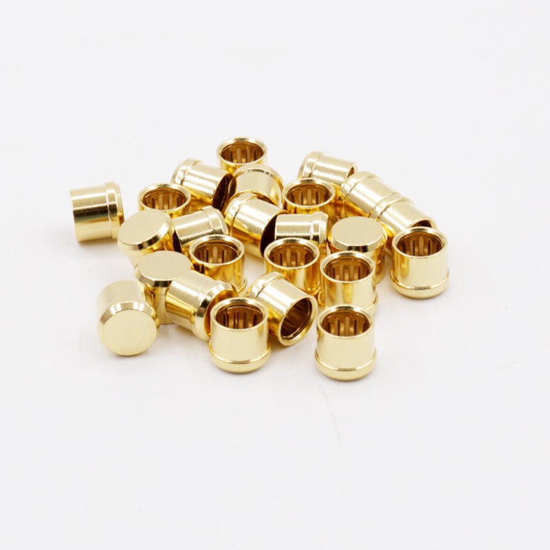 Computer & Office 12 Pcs 8 Pcs Noise Stopper 24k Gold Plated Copper Rca Plug Caps Rhodium Plated Copper Rca Plug Caps High Quality