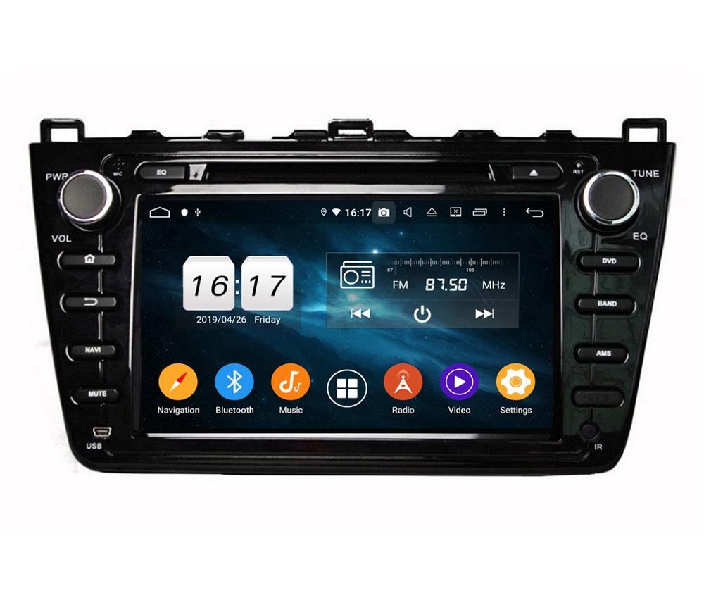 "IPS Octa Core 8"" Android 9.0 Car Radio DVD Multimedia Head"