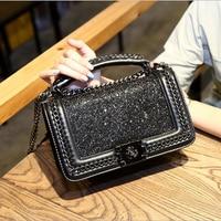 POESECHR Women Messenger Bags New Ladies Leather Brand Crossbody Bag For Women Diamonds Sheepskin Handbags Shoulder