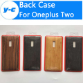 For Oneplus 2 Battery Case 100% High Quality Wood Bamboo Pattern Ultra Thin Hard Protective Back Cover For Oneplus two