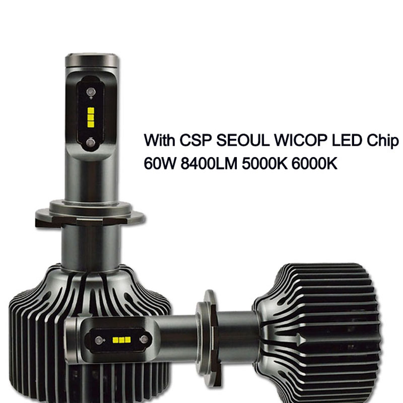 30W led h7 car headlight bulb h11 d1s D1R d2s d3s D2R d4s 9006 HB4 9005 HB3 4200lm 6000K with CSP seoul chips high brightnes mamamoo seoul