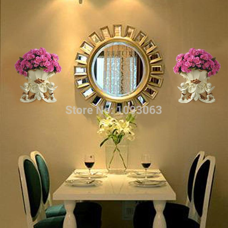 European dimensional Angel Vase Decorative Wall Hangings Creative ...
