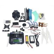JMT Vollen Satz RC Drone Quadrocopter Aircraft Kit 500mm Multi-rotor Air Rahmen 6 Mt GPS APM2.8 Flug Control Gimbal PTZ F08151-I