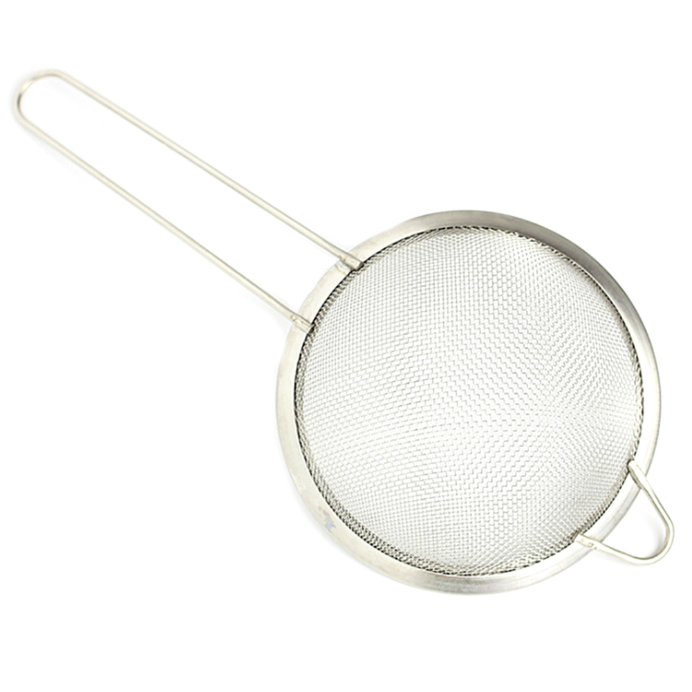 Stainless Steel Net Oil Leak Kitchen Spoon Fishing Line Fishing Noodles Fried Spicy Oil Spoon Strainer Net Filter 4 size