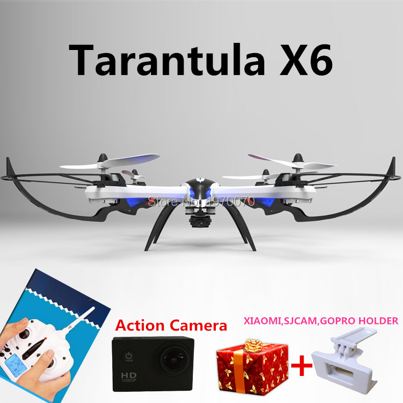 Hélicoptère de Drone quadrirotor RC 6 axes Yizhan tarantula X6 2.4G avec caméra HD PK Syma x8c x8w
