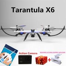 Yizhan тарантул X6 2.4 Г 6-осевой RC Мультикоптер Drone Вертолет С HD Камеры PK Syma x8c x8w