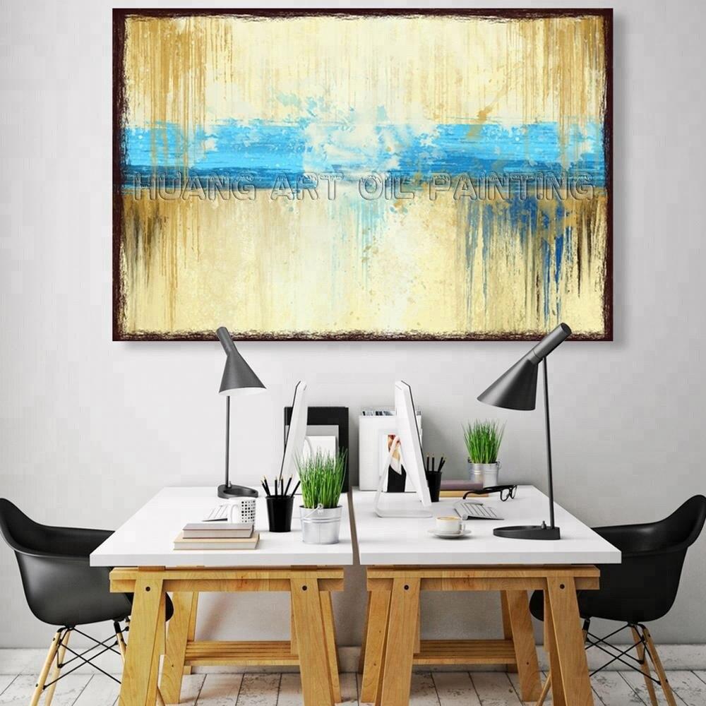 SY Original-Abstract-Canvas-Wall-Art-Handmade-Oil
