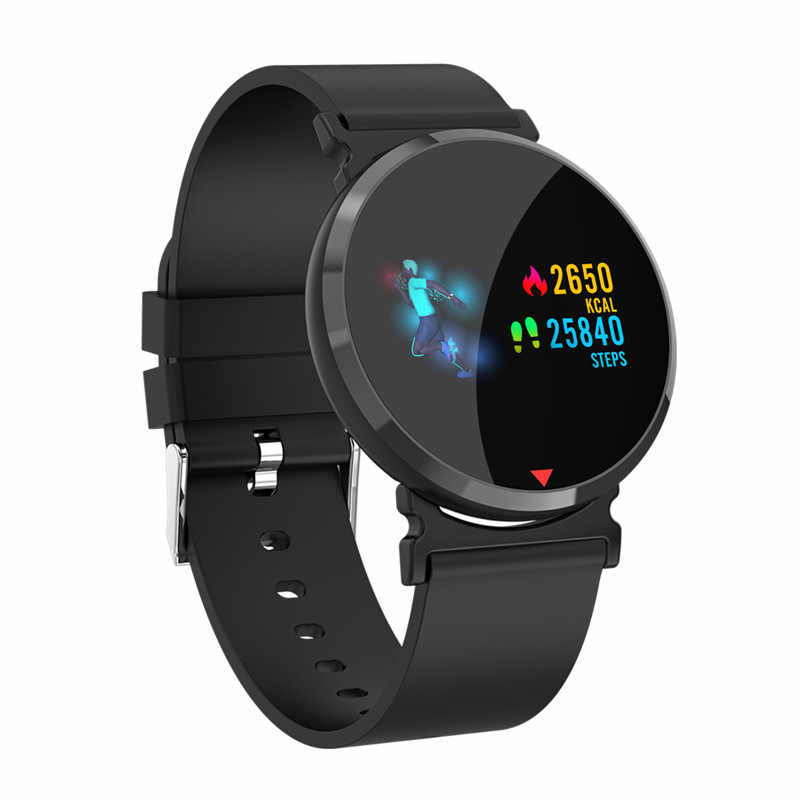 Heart Rate Monitor Smart Watch Men Color IPS Screen Men's Watch Pedometer Calorie Fitness Watch Clock Blood Pressure Sport Watch