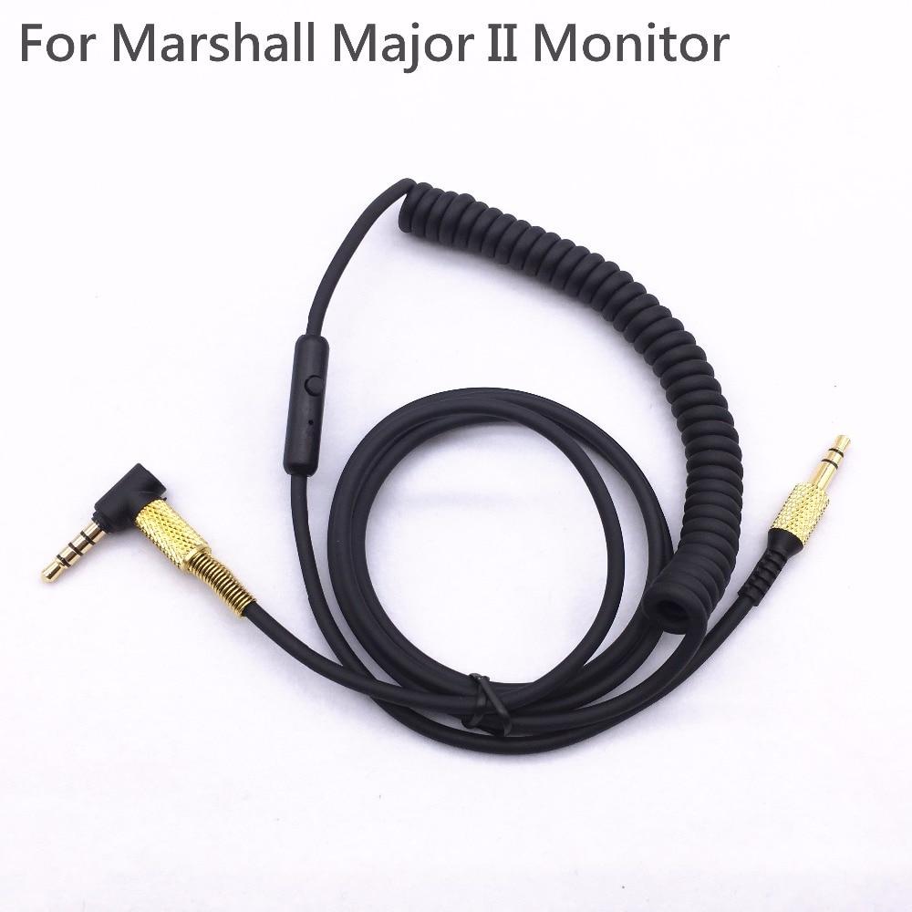 Per I Grandi 2 Principali II Monitor Cavo Della Cuffia con il mic di Controllo Vocale Auricolare Drive-by-wire Cavo per Iphone Samsung LG