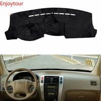 For Hyundai Tuscon Ix35 2004 2009 Flannel Dashmats Dashboard Covers Dash Pad Car Mat Carpet Accessories 2005 2006 2007 2008