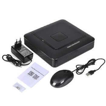 CCTV DVR 4CH 1080N TVI.CVI .AHD-NH 5 In 1 Hybrid DVR Security DVR NVR Recorder For Analog AHD 1080P IP Cam Surveillance Mini DVR