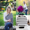 Multi Use Stretchy Infinity Scarf Breastfeeding Shopping Cart High Chair Cover Baby Car Seat Cover Toddler