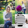Multi-Use Stretchy Infinity Scarf Breastfeeding Shopping Cart High Chair Cover Baby Car Seat Cover Toddler Canopy Nursing Cover