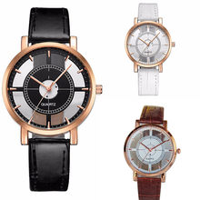 women watches new design fashion Women Neutral Personality Simple Analog Wrist Delicate Unique Hollow Watch Luxury Watches 30y(China)