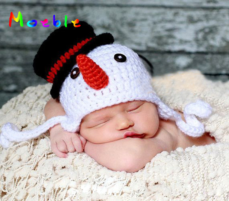 Girls Outfit Boys Snowman Baby Gro Hat Xmas Penguin Newborn Baby to 6 Months