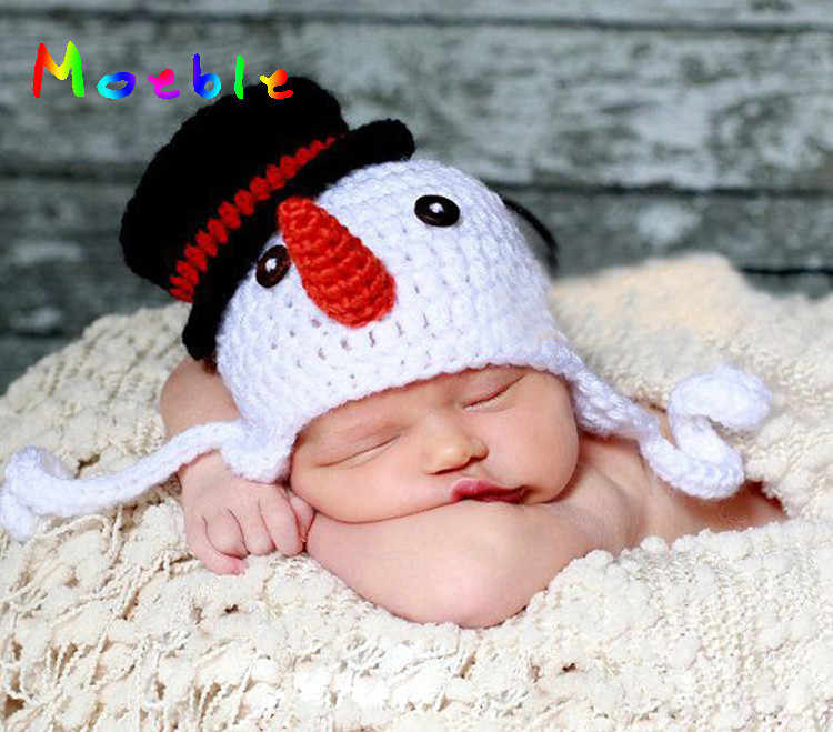 7bacafaa0 Detail Feedback Questions about 2018 Latest Crochet Baby Snowman Hat ...