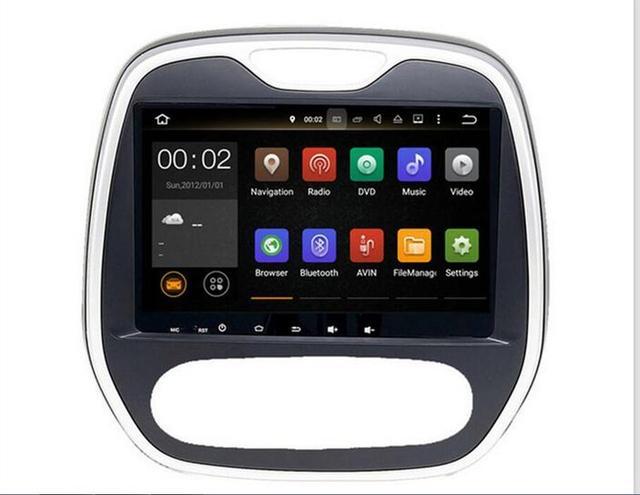 FREE GIFT RAM 2GB Android 7.1 Fit Renault Captur /CLIO /Samsung QM3 2011 2012 2013 2014 2015 Car DVD Player Navigation GPS Radio