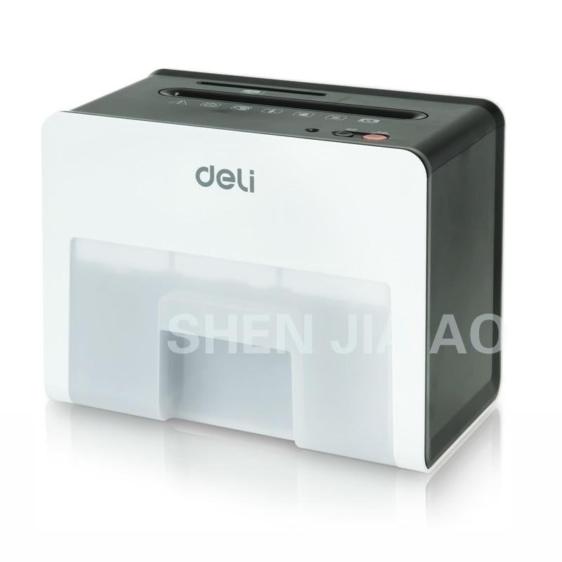 купить 9931 Mini Desktop Electric paper shredder 2.5L volume 220-230V 3x10mm security Paper shredder Cards по цене 4351.16 рублей
