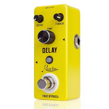 ROWIN LEF - 314 Guitar Effects Classical Delay Analog Guitar Effects Pedal True Bypass Design Guitar Pure Analog Delay Effect rowin analog dumbler guitar effect pedal