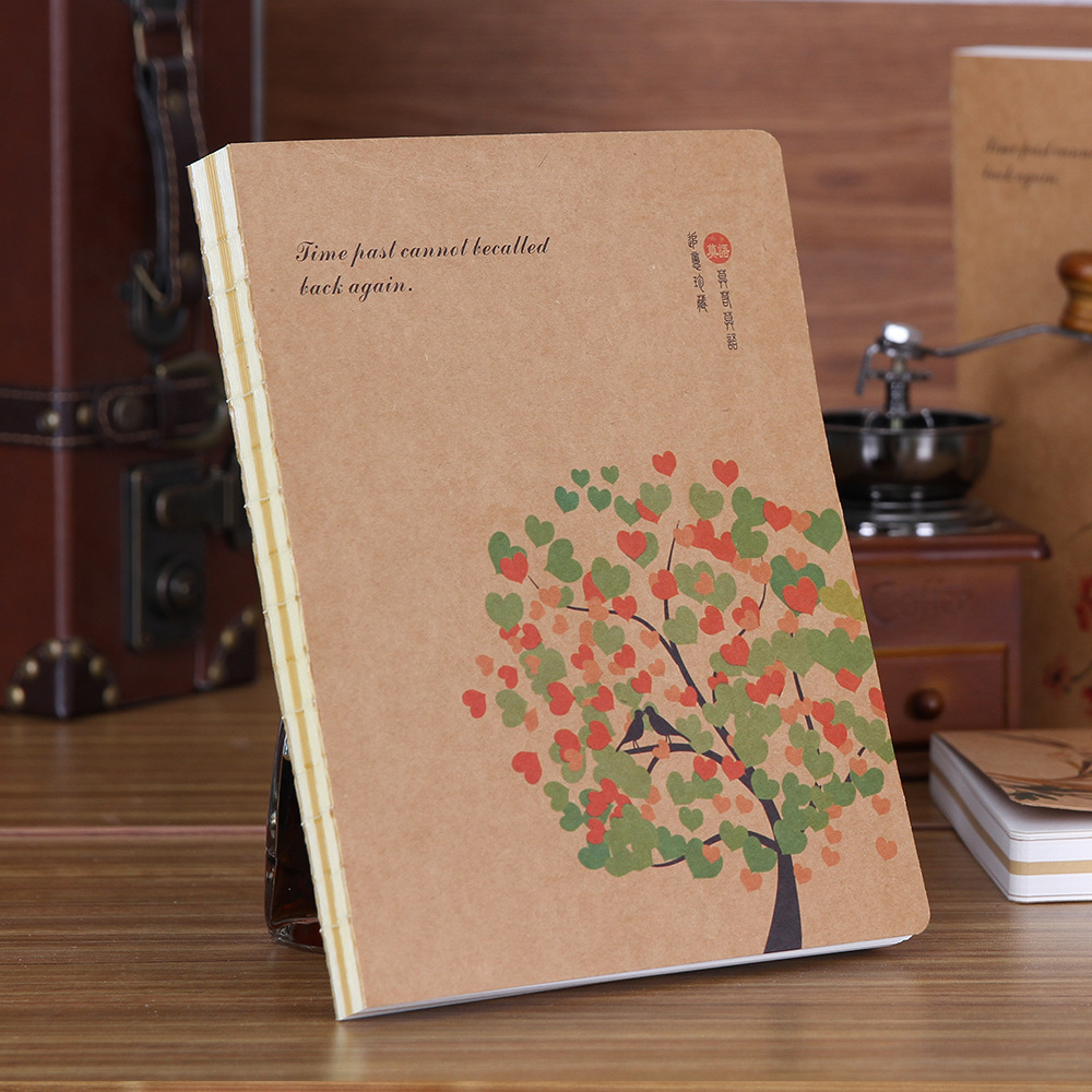 New Sketchbook Diary Drawing Sketch Book 130 sheets 16K B5 Notebook paper Hardcover Office School Supplies gift hardcover a5 planner diary notebook paper 112 sheets sketch cute school notebook hand book luminous office shcool supplies gift