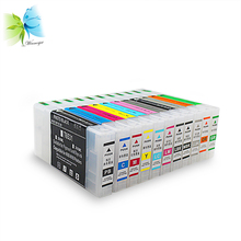 Newest products!!! 300ml ink cartridge refillable ink tank with ARC chips for epson pro 4900 4910 printers