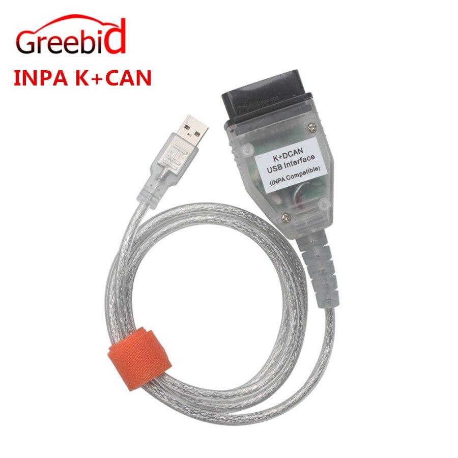 Prix pour Meilleur Prix pour BMW INPA K + CAN K PEUT INPA Avec FT232RL Puce INPA K DCAN USB Interface de Diagnostic Complet Pour BMW De 1998 À 2008