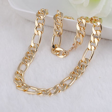 New design men fashion  Gold plated steel chain necklace,women vintage pendant necklace jewelry customize