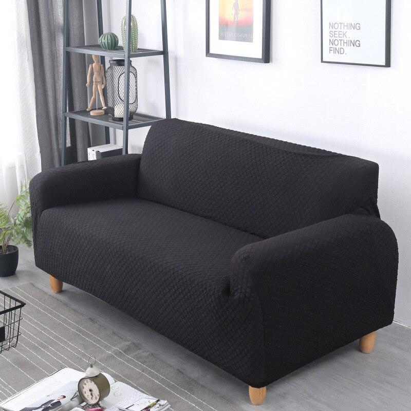 Aliexpress.com : Buy Gray Plaid Sofa Covers Elastic All