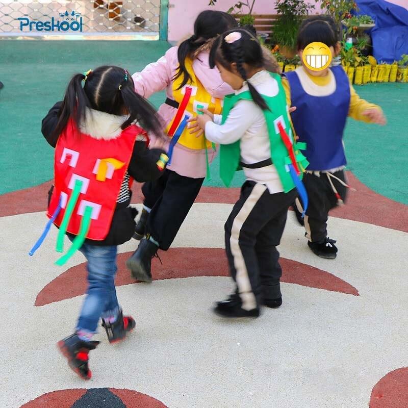 Preskool bebé juguete para niños deportes al aire libre chaleco para jardín de infantes equipo de entrenamiento para niños
