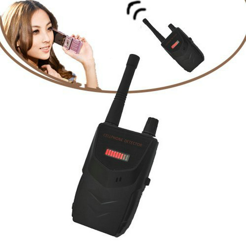 5pcs/lot Wireless RF Detector Cell Phone Buster Mobile Phone Wireless Camera Signal Detector Wifi Finder 007B Free Shipping