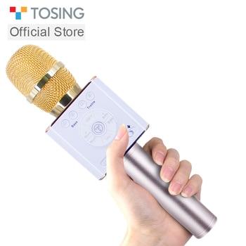 Tosing 04 Karaoke Microfono Senza Fili Altoparlante del Bluetooth 2-in-1 Portatile Cantare Registrazione Portatile KTV Player per iOS /Android vs Q9