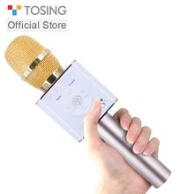 Tosing 04 kablosuz Karaoke mikrofonu Bluetooth hoparlör 2 in 1 el Sing kayıt taşınabilir KTV oyuncu iOS/Android vs q9