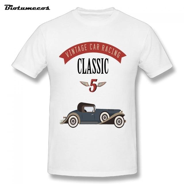 Hot Classic Bubble Retro Unique Car Men Printed Vintage T Shirt rxhdtsQC