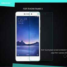 "Original de NILLKIN Para Xiaomi Redmi 3 Redmi 3 pro Redmi 3 s 5.0 ""Increíble H Templado Protector de Pantalla de Cristal película"